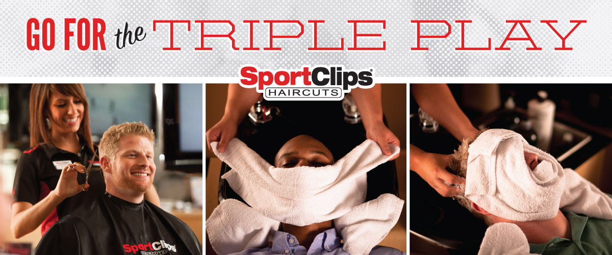 The Sport Clips Haircuts of Morgan Hill Triple Play
